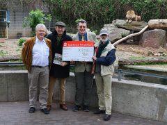 Weitere Unterstützung für den Ausbau der Löwenanlage