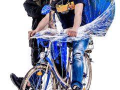 """""""Radkult(o)ur international"""" – ein integratives Ausstellungsprojekt im öffentlichen Raum"""