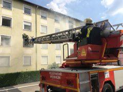 """Feuerwehrübung unter """"Realbedingungen"""""""