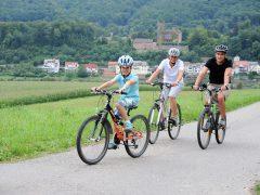 Auf dem Rad durchs Neckartal