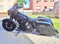 Harley Davidson in Hockenheim gestohlen