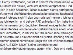 Ultra-rechte Facebook-Gruppe aus Mannheim mit rund 25.000 Mitgliedern