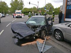 Schwerer Unfall in Ludwigshafen