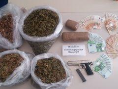Acht mutmaßliche Rauschgifthändler festgenommen