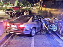Autofahrer hat Glück im Unglück