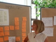 Migranten arbeiten an der Zukunft Mannheims
