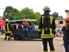 Erfolgreicher Tag der offenen Tür der Feuerwehr Weinheim
