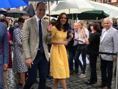 Besuch von Prinz William und Herzogin Catherine in Heidelberg