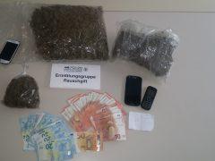 Mutmaßliche Drogendealer in U-Haft