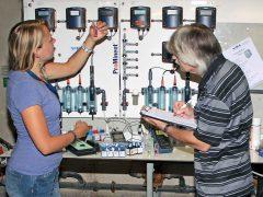 Hygiene-Kontrolle des Gesundheitsamt im Aquadrom Hockenheim