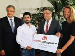 Hilfe für Helfer Mehmet Efetürk: Stadt Weinheim koordiniert Unterstützung