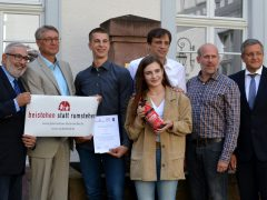 Beistehen statt rumstehen: Ehrung für vier Heidelberger