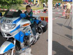 Großer Andrang beim Kinderfest der Jugendverkehrsschule