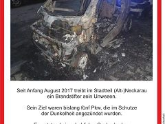 Feuerteufel von Neckarau wieder aktiv