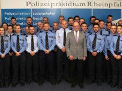 """""""Neue"""" Polizisten fürs Polizeipräsidium Rheinpfalz"""