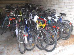 Rund 40 Fahrräder in Seckenheim sichergestellt