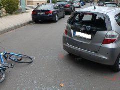 Fahrrad von Unfallstelle geklaut