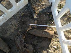 Bei Bauarbeiten drei Kriegsgranaten gefunden