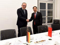 Chinesischer Botschafter zu Gast in Mannheim