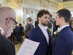Gemeinsame Hochzeitszeremonie für gleichgeschlechtliche Paare in Heidelberg