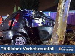 Tödlicher Verkehrsunfall in Ludwigshafen