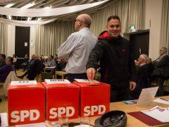 SPD-Basis mehrheitlich für Opposition