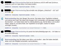 """Warum wir einen """"Herr Berger"""" auf unserer Facebookseite blockiert haben"""