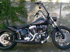 Harley Davidson entwendet
