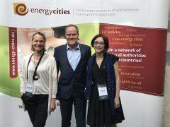 """""""Energy Cities""""-Präsident Prof. Würzner leitete in Rennes Gespräche über die Energiewende"""