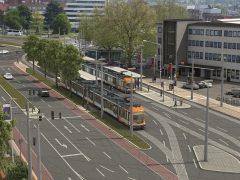 Umbau der Haltestelle Hauptbahnhof in Heidelberg