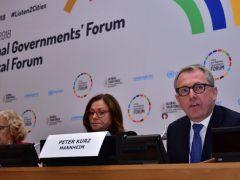OB Dr. Kurz spricht bei den Vereinten Nationen