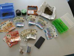 17-Jähriger wegen des Verdachts des Drogenhandels festgenommen