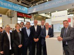 Rhein-Neckar-Kreis präsentierte sich auf der Expo Real in München