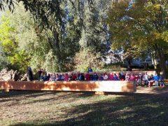 Waldlehrpfad am Bruchsee feiert Eröffnung