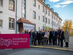 Heidelberg Innovation Park: Erste Firma zieht ein
