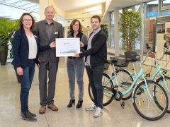 Rhein-Neckar-Kreis ist fahrradfreundlicher Arbeitgeber