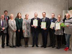 """Sechs Mannheimer Unternehmen als """"ECOfit-Betriebe"""" ausgezeichnet"""