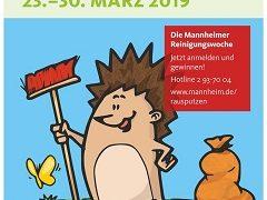 Jetzt anmelden zur Mannheimer Reinigungswoche 2019