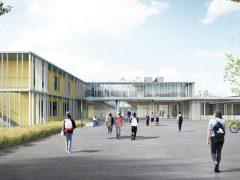 Konjunktur verteuert das Weststadt-Schulzentrum