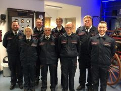 Feuerwehr-Abteilung Stadt blickt auf 2018 zurück