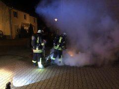 Keine Nachtruhe für die Weinheimer Feuerwehr