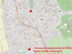 Verunreinigtes Trinkwasser: Dossenheim richtet Wasserabgabestellen ein