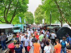 Die Streetfood-Tour rollt das erste Mal durch Weinheim
