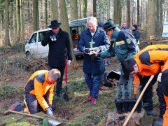 Kreisförster kämpfen gegen die Auswirkungen des Klimawandels